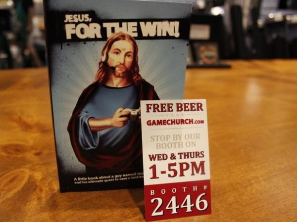 Igreja para gamemaníacos prega amor a Jesus e dá cerveja a fiéis