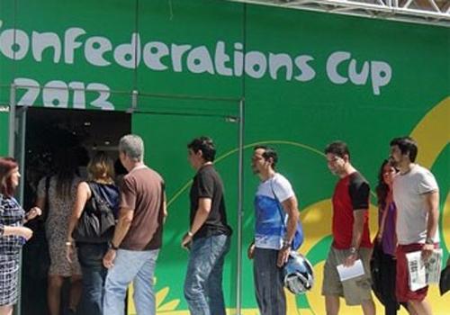 Turismo deve render R$ 241 milhões ao país na Copa das Confederações