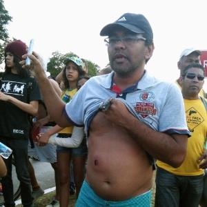 PM do DF atira balas de borracha na cabeça de manifestantes que filmavam ação policial