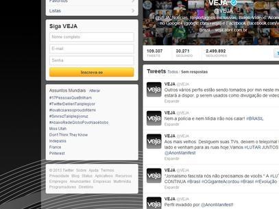 Após protestos, grupo Anonymous invade site oficial do PMDB