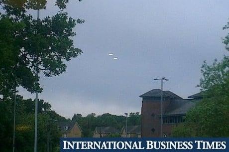 Naves extraterrestres são flagradas no céu da Inglaterra