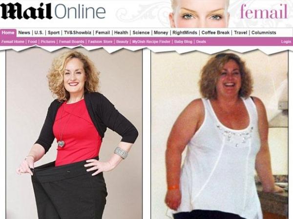 Mulher perde 50 kg com técnica de corda amarrada na cintura