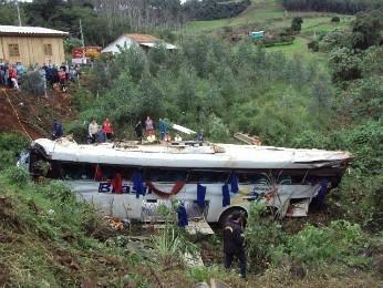 ANTT: ônibus que deixou 9 mortos em SC não tinha autorização para viajar