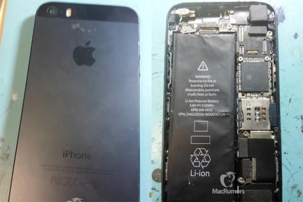 Imagens do iPhone 5S  caem na web e sugerem  novo e poderoso flash