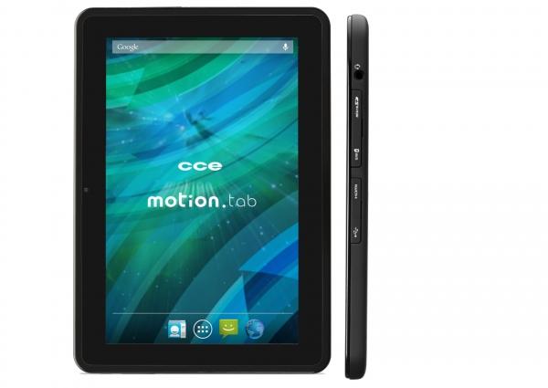 Tablet CCE Motion Tab, com tela de 7 ou 10