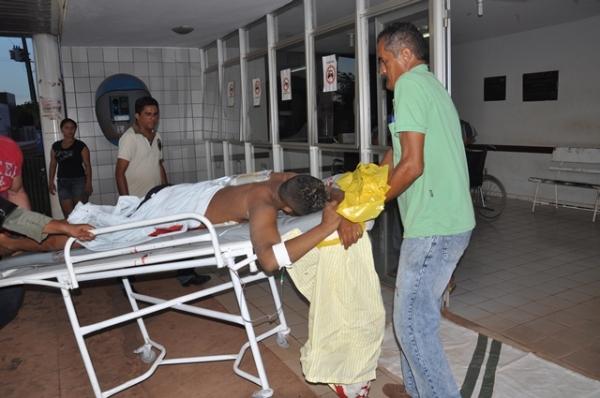 Troca de tiro entre bandido e policia na PI-366 deixa um morto e outro preso