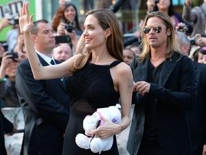 Angelina diz estar