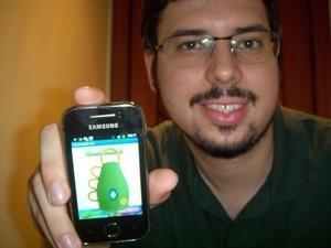 Aplicativos de celular são alternativa para usar caxirola no estádio