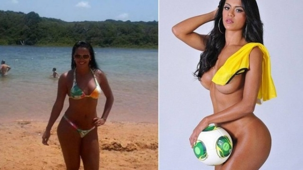 Musa da Copa das Confederações emagreceu 10kg e avisa: