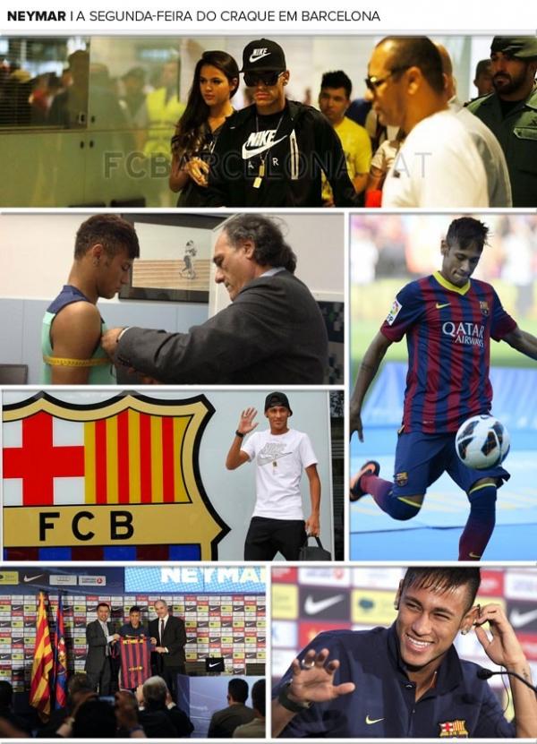 Após maratona em Barcelona, Neymar volta ao Brasil e deve perder treinos na terça na Seleção