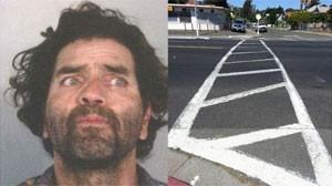 Homem é preso nos EUA acusado de pintar faixa de pedestres em rua