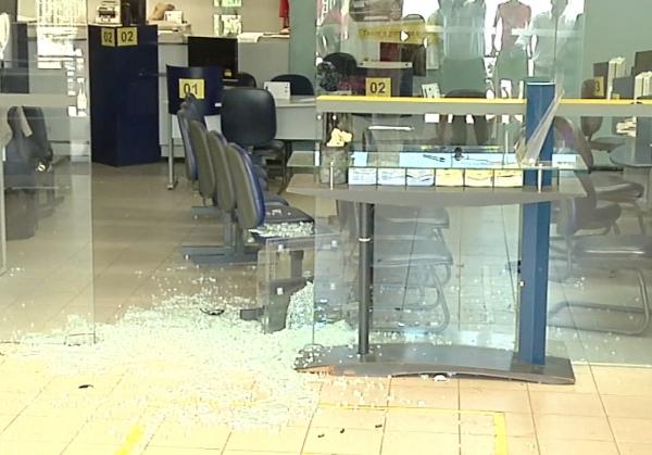 Agências bancárias do interior têm um incidente a cada 17 dias