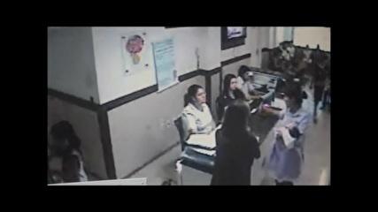 Divulgado vídeo do sequestro de bebê de um mês em clínica em Fortaleza