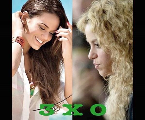 Após derrota da Espanha, Shakira vira piada na internet