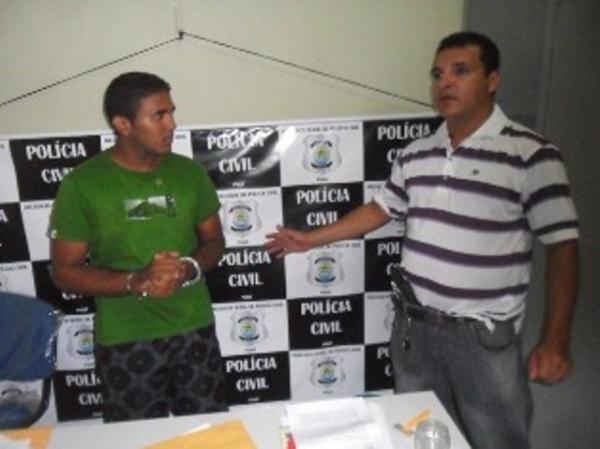 Homem é baleado durante assalto em José de Freitas e acusado é preso