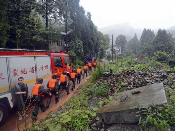 Fortes chuvas deixam ao menos 21 mortos e 50 desaparecidos na China
