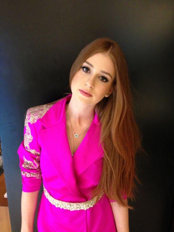 Globo decide não cortar o cabelo de Marina Ruy Barbosa