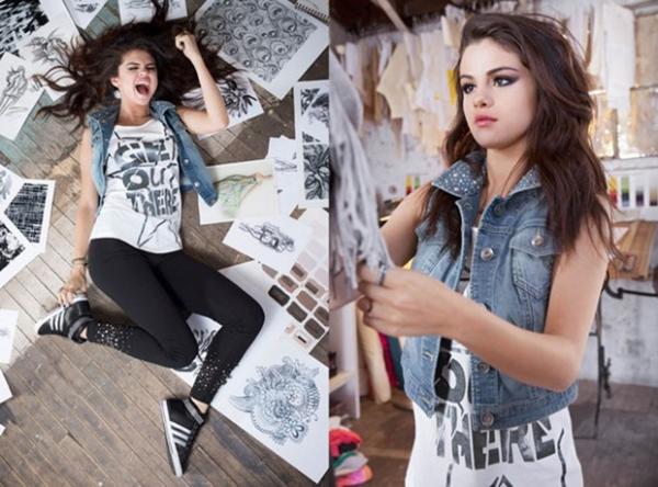 Veja fotos de Selena Gomez em campanha para a Adidas