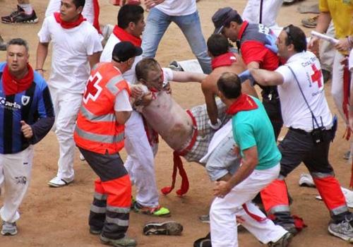 Festa de São Firmino registra 4 pessoas feridas em Pamplona