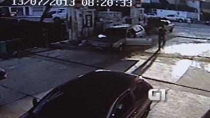 Imagens mostram morte de jovem após discussão com policial