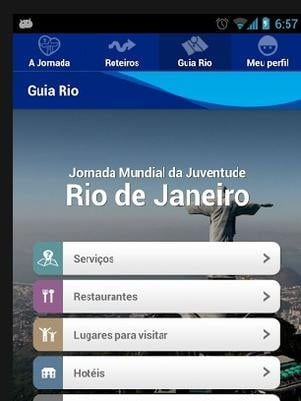 Jornada da Juventude tem aplicativo para facilitar acesso às informações