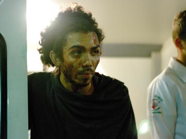 Manifestante é ferido em protesto em casamento de neta de empresário