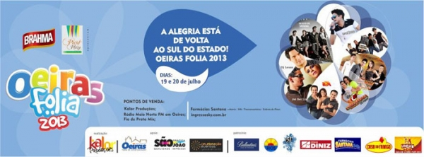 Camarote Super Top é espaço mais disputado do Oeiras Folia nos dias 19 e 20 de julho