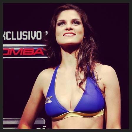Evangélica, ring girl do UFC será capa da revista ?Playboy?
