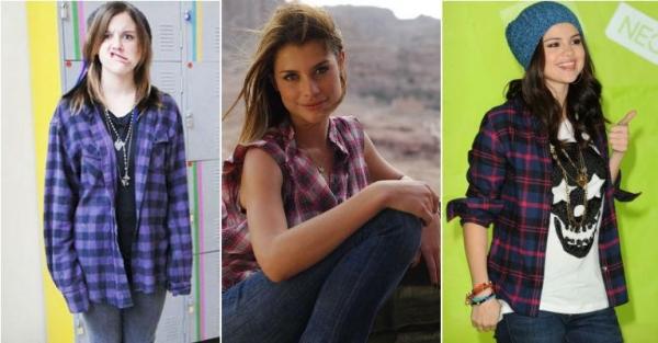 Alinne Moraes e Selena Gomez: aprenda a usar camisa xadrez com as famosas