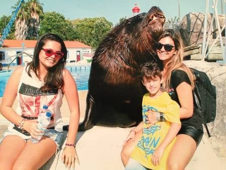Kelly Key curte verão europeu com os filhos e marido: ?Me divertindo muito?