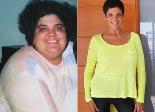 Após perder 76kg, dona de casa vira exemplo nas redes sociais