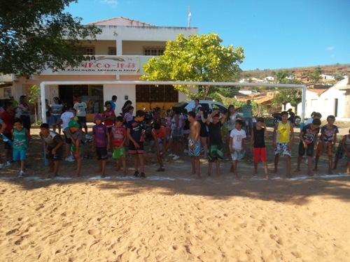 Município de Itainópolis realiza atividades esportivas do ? Atleta na escola?