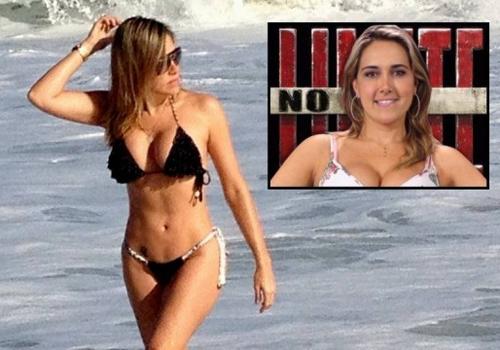 Ex- ?No Limite? aparece 5kg mais magra: ?Para morar no Rio tenho que ter corpão?