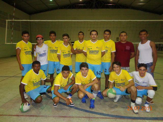 Seleção de Vôlei de SJD vence o 1º desafio no Campeonato Alusivo aos 103 anos de Piripiri