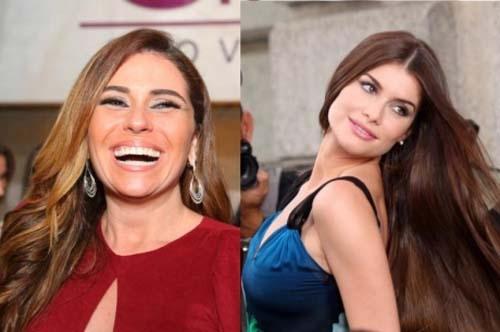 Giovanna Antonelli e Alinne Moraes
