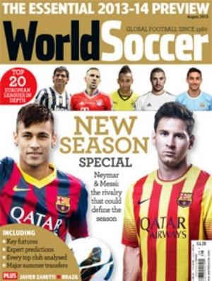 Neymar e Messi estampam capa de guia de revista britânica