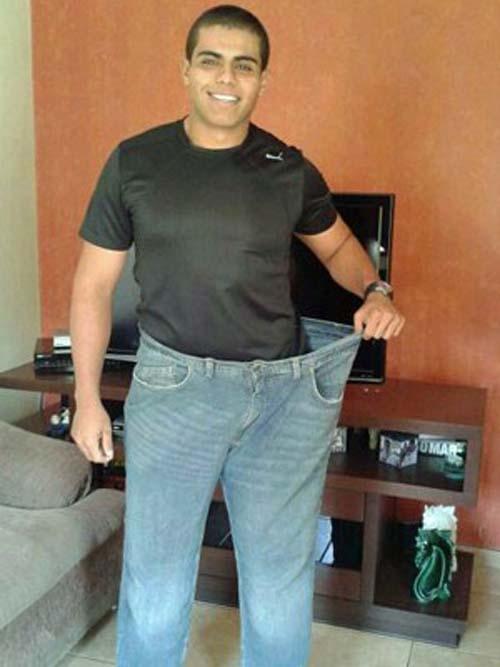 Após perder 48 kg, jovem muda para a Irlanda e mantém rotina