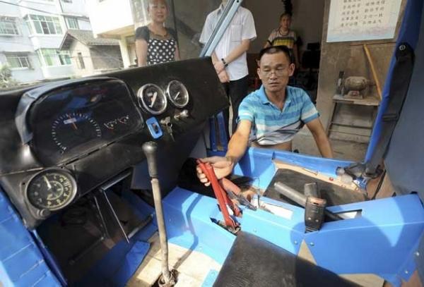 Chinês gasta mais de US$ 1,6 mil para construir helicóptero caseiro