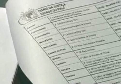 292 novos cartórios serão criados no Piauí por concurso