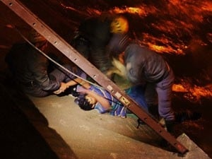 Homem é resgatado com hipotermia após cair em rio