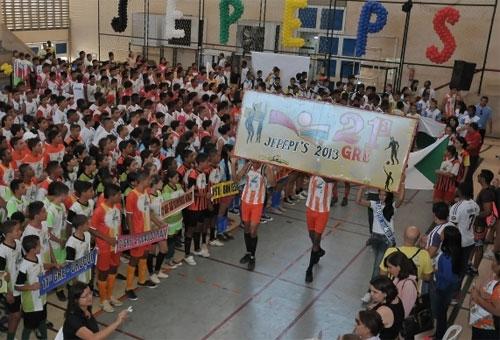 Com festa, Jogos Escolares lotam ginásio e reúnem jovens de todo o Piauíâ??