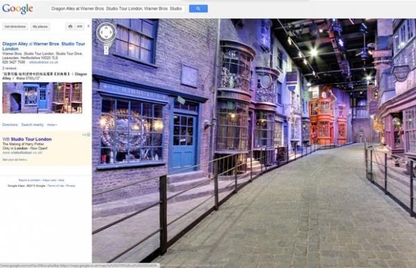Google inclui o Beco Diagonal, ponto de