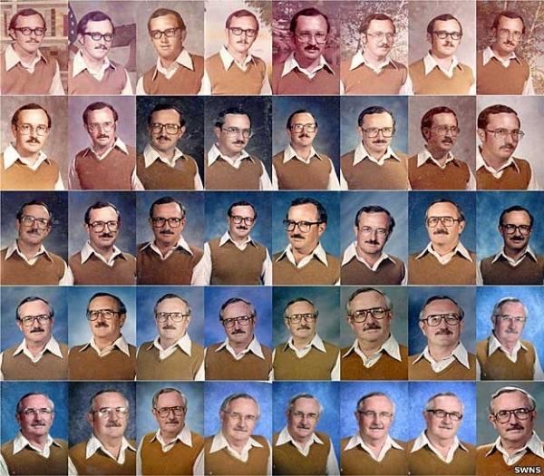 Professor usa mesma roupa há 40 anos e diz que