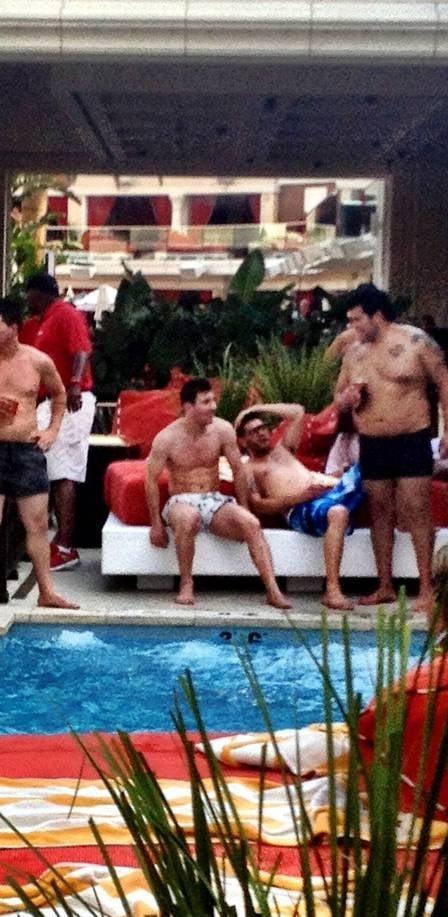 Ronaldo Fenômeno, Messi e Djalminha participam de festa privada em L.A