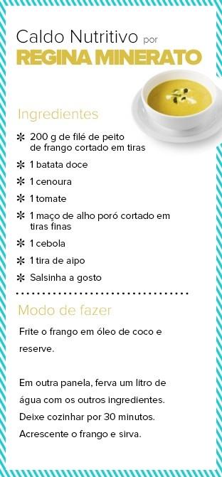 Ana Paula Minerato mostra boa forma e dá receita de sopa emagrecedora