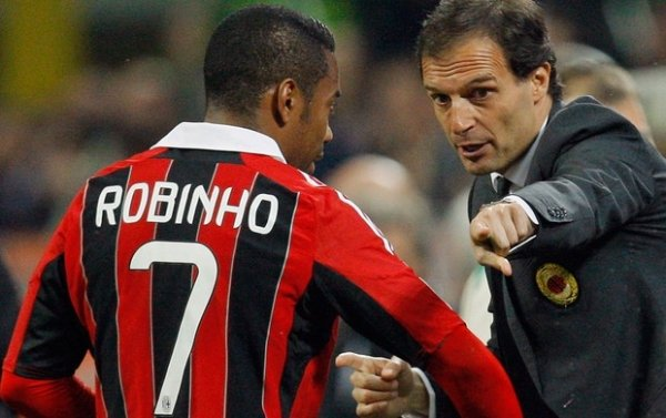 Santos tenta parcelar pagamento e fechar com Robinho nesta semana