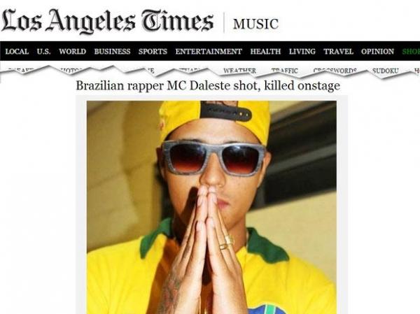 Morte de funkeiro durante show em SP é destaque na imprensa mundial