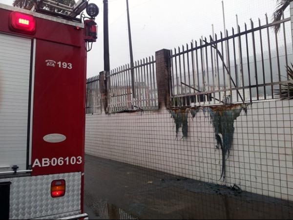Polícia investiga se fogo  no CT do Santos foi intencional