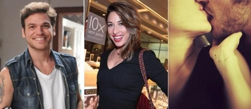 Atriz Giselle Itié e Emilio Dantas estão namorando há dois meses, diz jornal
