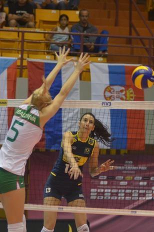 Grand Prix: Brasil perde para Bulgária e sofre primeira derrota